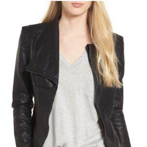 BlankNYC faux leather jacket, black, XS, like new